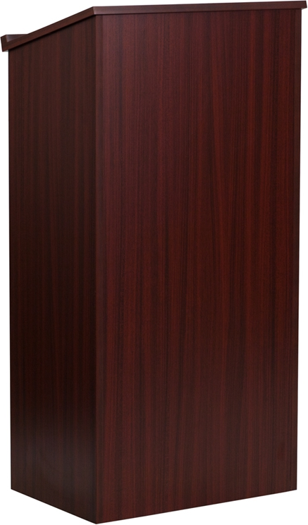 Flash Furniture  Mahogany Stand-Up Lectern [MT-M8830-LECT-MAH-GG]